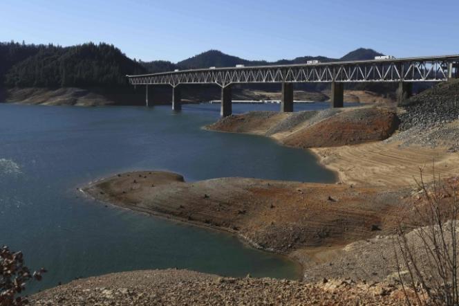 Une très grave sécheresse sévit en Californie depuis trois ans, particulièrement marquée en 2014.