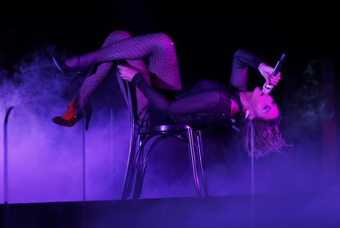Beyoncé a ouvert la grand-messe des Grammy Awards, le 26 janvier.