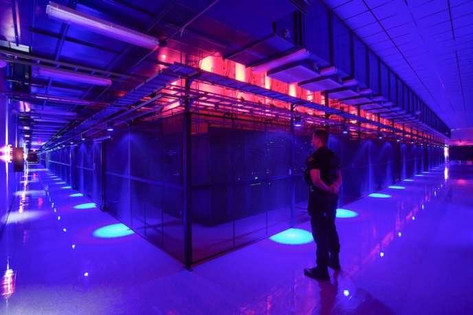 Le centre de données de Las Vegas aux Etats-Unis.