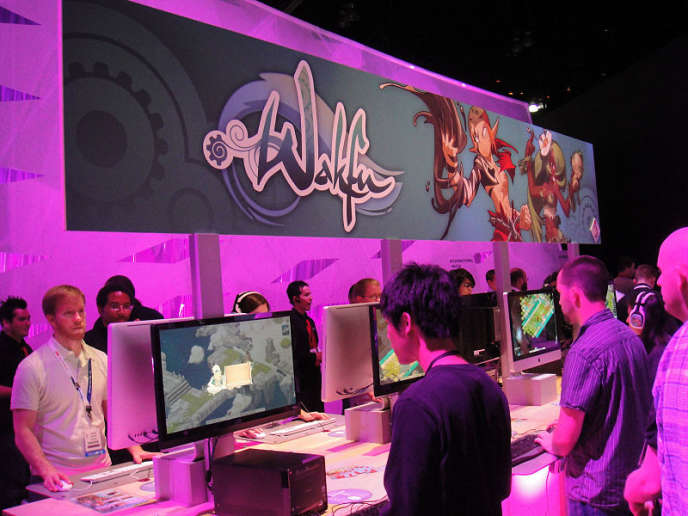 Stand Wakfu à l'E3 2011.