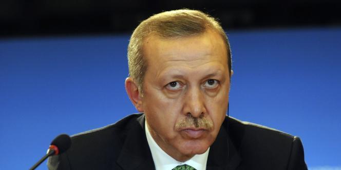 Recep Tayyip Erdogan, le 21 janvier 2013, à Bruxelles.