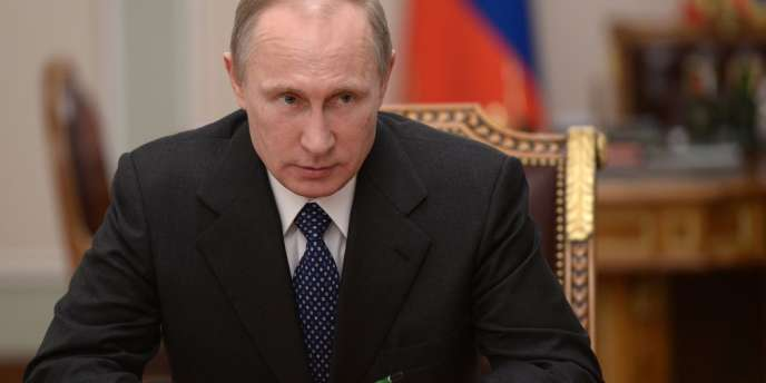 Vladimir Poutine en janvier.
