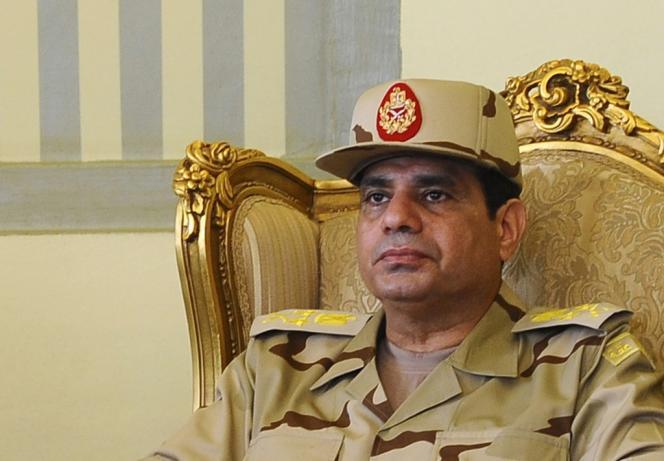 Abdel Fattah Al-Sissi, le 22 mai 2013.