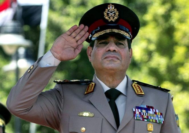 Abdel Fattah Al-Sissi, en avril 2014 auCaire.