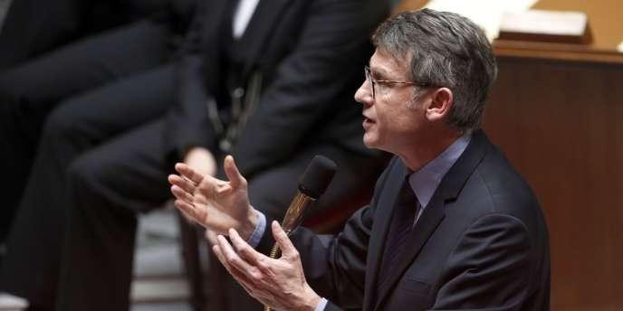 Vincent Peillon, à l'Assemblée nationale le 22janvier.