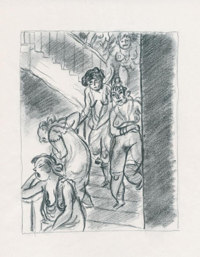 Illustration de Gus Bofa pour