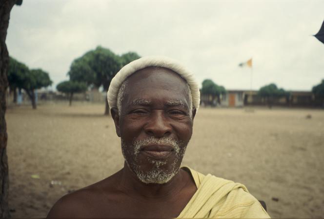 Frédéric Bruly Bouabré, Abidjan, Marcory, décembre 1996.