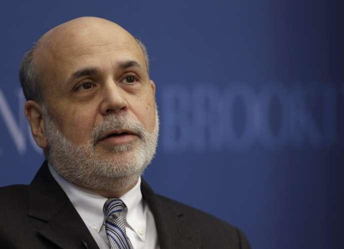 Ben Bernanke, l'ex-président de la Fed, en janvier 2014.