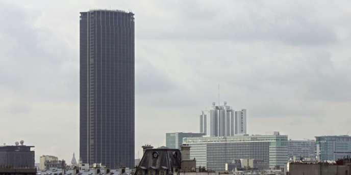 La tour Montparnasse à Paris, en 2006.