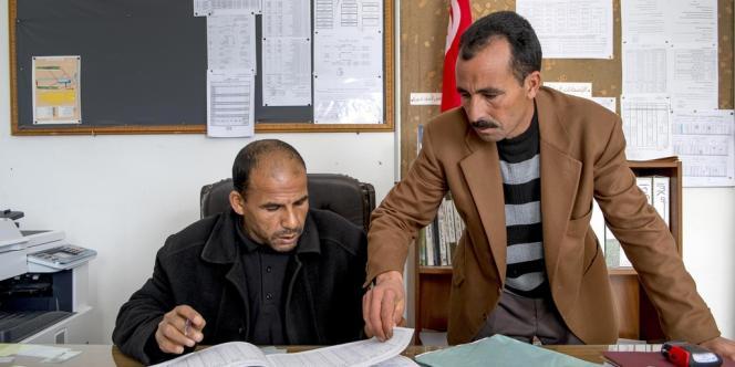 Tunisie, l'école abandonnée.