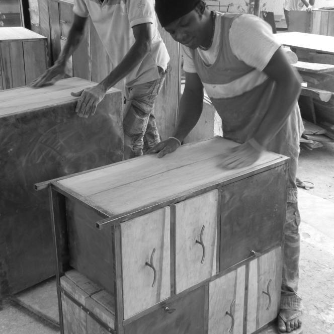 L'atelier d'Inoussa Dao
