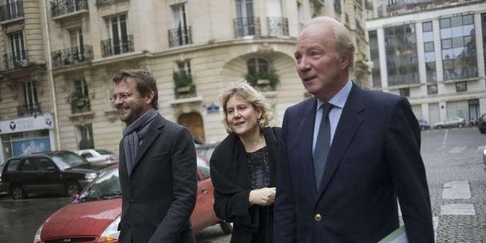 Brice Hortefeux le 29 janvier à Paris.