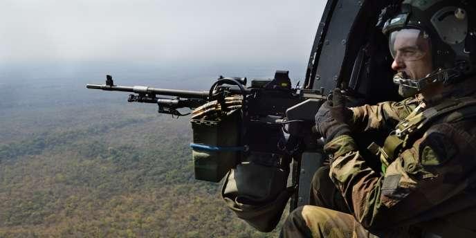 Des hélicoptères français ont survolé Sibut vendredi pour une mission «d'accompagnement».