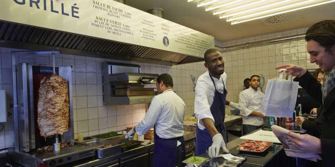 Le Grillé a ouvert en juillet 2013, rue Saint-Augustin (Paris 2e).