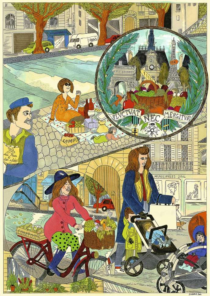 Illustration: Camille Lavaud pour M le magazine du Monde