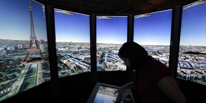 Le campus de Google, à Los Angeles, en mai 2012.