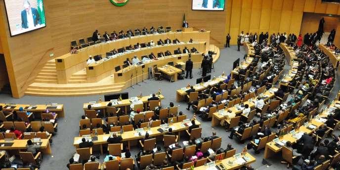 Ouverture du sommet de l'Union africaine à Addis Abeba, le 30 janvier.