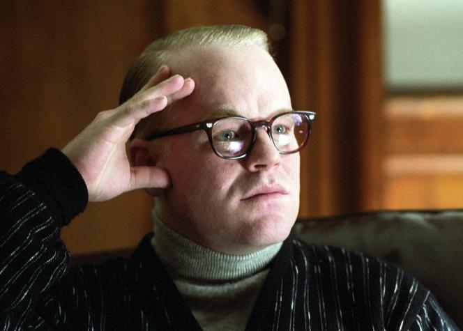 Philip Seymour Hoffman dans le rôle de Truman Capote, en 2005.