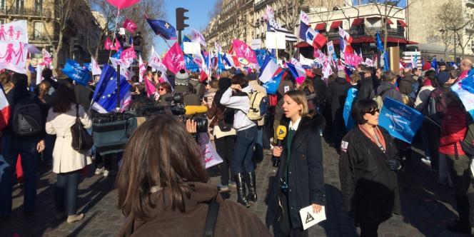 La Manif pour tous du 2 février à Paris.