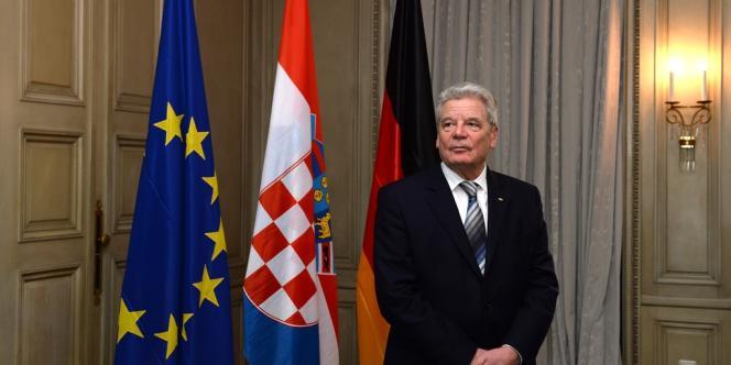 Le président allemand Joachim Gauck a plaidé pour davantage d'action sur la scène internationale lors de la conférence de Munich sur la sécurité, le 31 janvier.