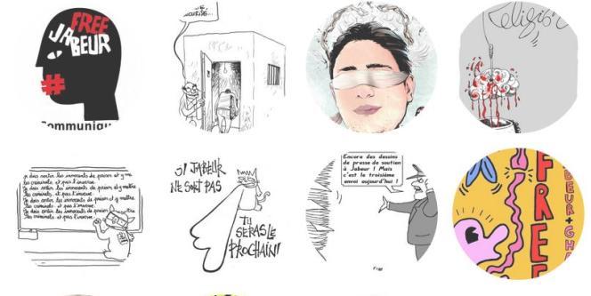 Une campagne de soutien à Jabeur Mejri s'est déployée, une dizaine de jours après l'adoption de la nouvelle Constitution tunisienne garantissant la liberté de conscience et d'expression.