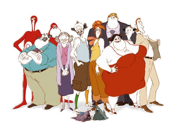 Une image du film d'animation français et luxembourgeois de Jacques-Rémy Girerd et Benoît Chieux,