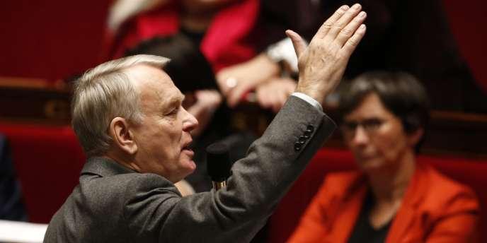 Jean-Marc Ayrault, le 4 février à l'Assemblée nationale.