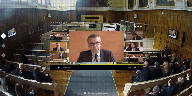 Le dispositif interactif à six caméras faisant suite à la diffusion du film