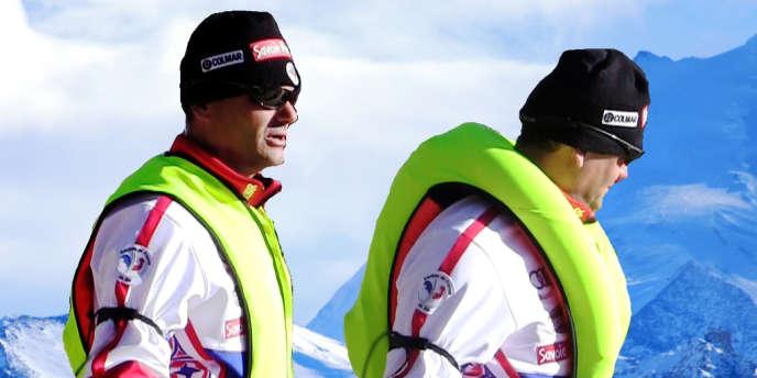 Un système d'airbag a été développé pour les athlètes français de skicross.