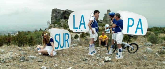 Une scène du film français de Yann Le Quellec, «Le Quepa sur La Vilni !».