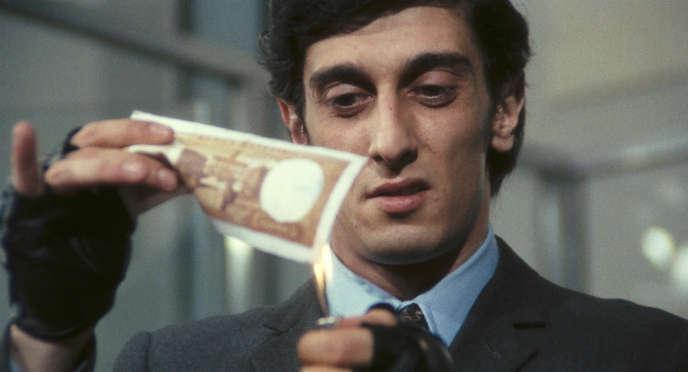 Une scène du film italien d'Elio Petri,