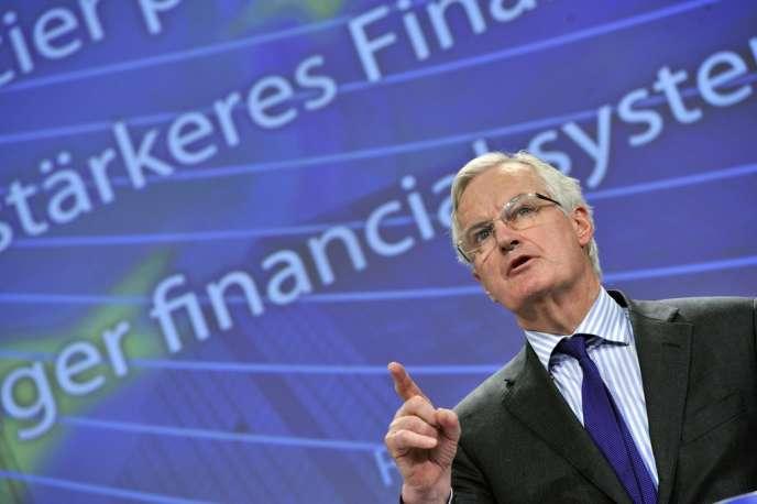 Le commissaire européen Michel Barnier, le 29 janvier.