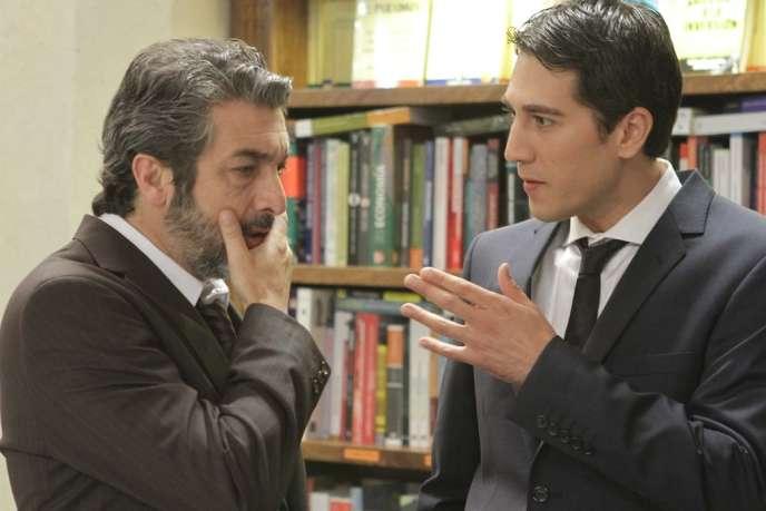 Ricardo Darin et Alberto Ammann dans le film argentin de Hernan Goldfrid,