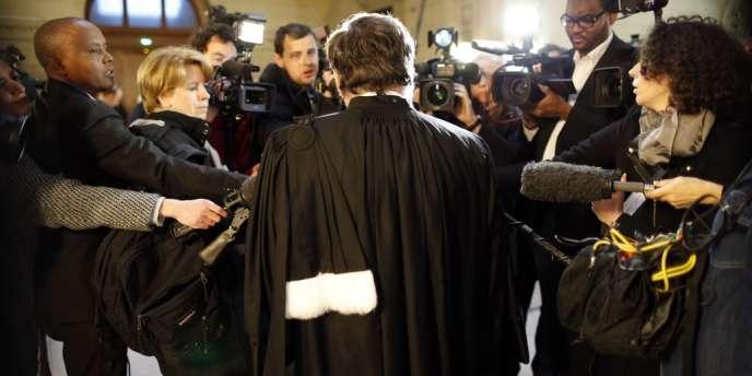 Un avocat, le 4 février à Paris.
