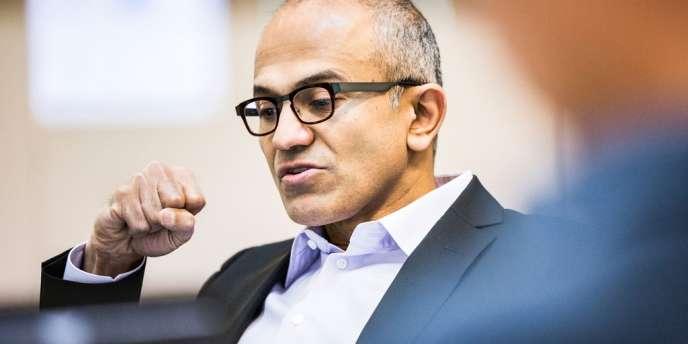 A 47 ans, Satya Nadella est le troisième homme à diriger le paquebot Microsoft.