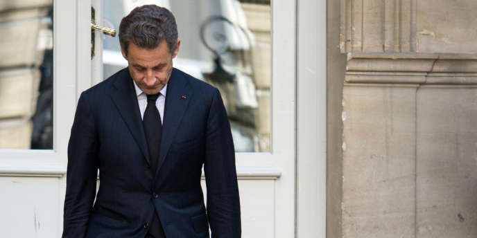 Nicolas Sarkozy à Paris, en mars 2013.
