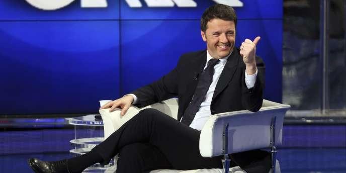 Matteo Renzi, le 21 janvier à Rome.