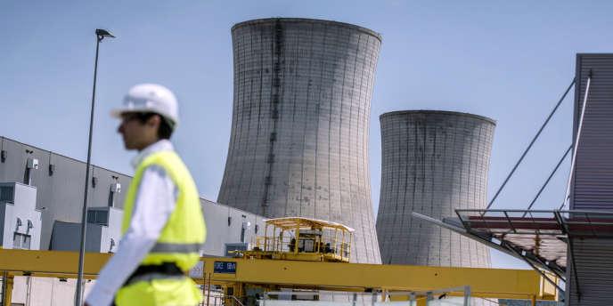 Sur le site nucléaire du Tricastin, dans le sud-ouest de la France, en mai 2012.
