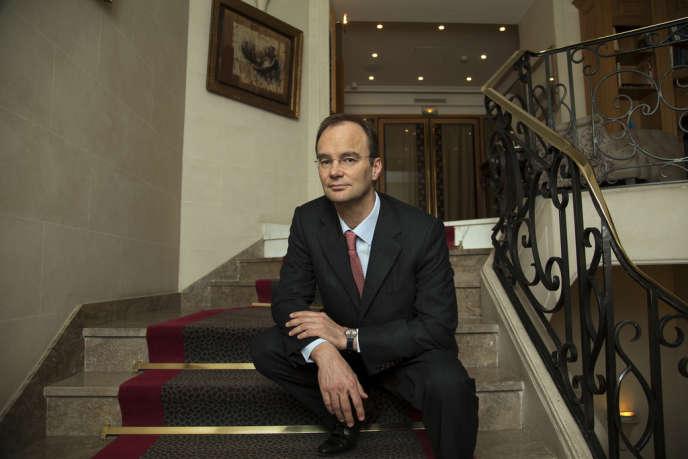 Nicolas Rousselet, PDG du groupe G7, vendredi 7 février, à Paris.