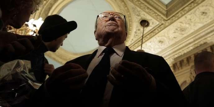 Jean-Marie Le Pen, le 18 janvier à Nice.