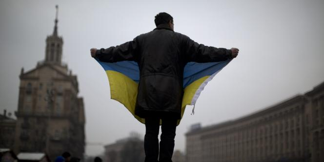 A Kiev, en Ukraine, le 7 février.