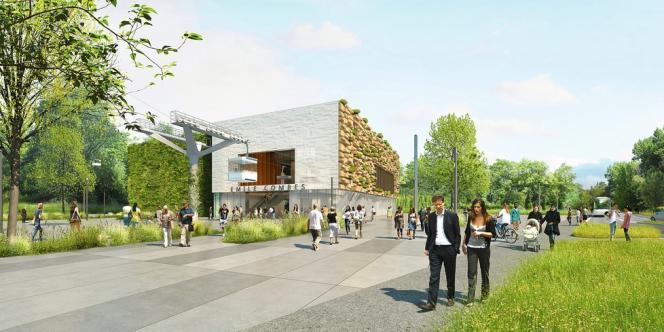 La station Téléval Emile-Combes à Limeil-Brévannes (Val-de-Marne) pourrait voir le jour d'ici à 2018.