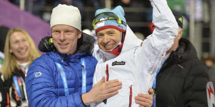 Le Norvégien Ole Einar Bjoerndalen a remporté un septième titre olympique samedi sur le 10 km sprint du biathlon.