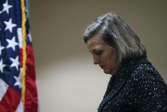 La secrétaire d'Etat américaine adjointe Victoria Nuland, vendredi 7 février 2014.