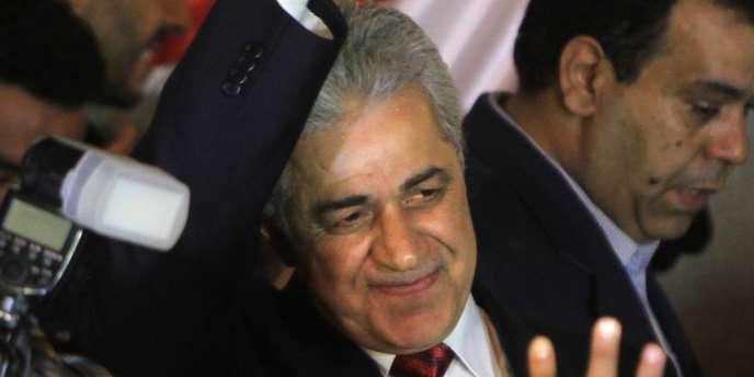 Le socialiste Hamdeen Sabbahi, au Caire en mai 2012.