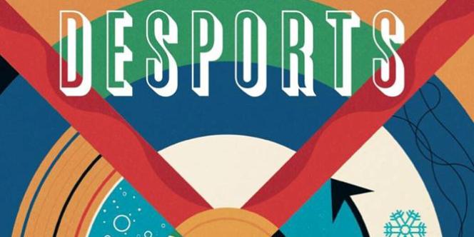 La couverture du troisième numéro de l'excellente revue Desports.