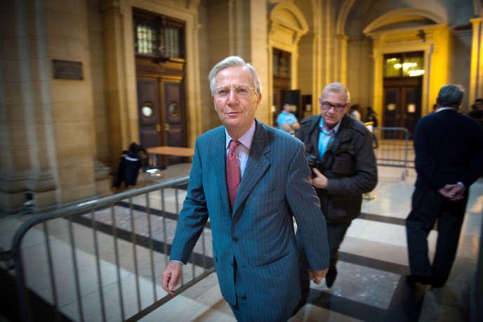Denis Gautier-Sauvagnac au tribunal correctionnel de Paris, le 22 octobre 2013.