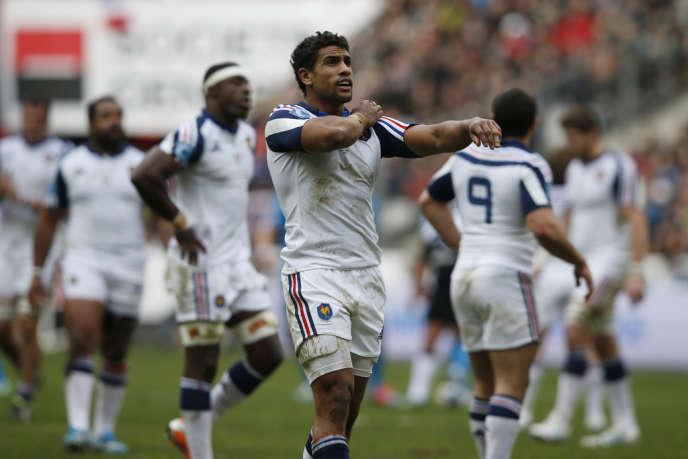 Wesley Fofana, dimanche 9 février au Stade de France.