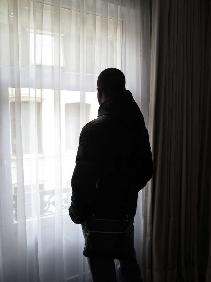 Mamadou Kébé, le 8 février, à Bruxelles.