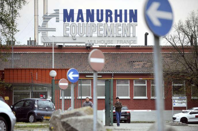 Une usine du groupe Manurhin à Mulhouse le 15 avril 2010.